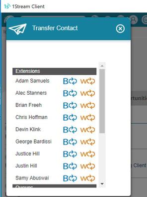 1stream smart call transfer
