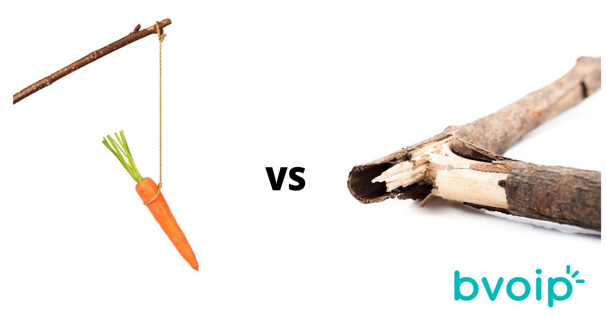 Carrot vs Stick