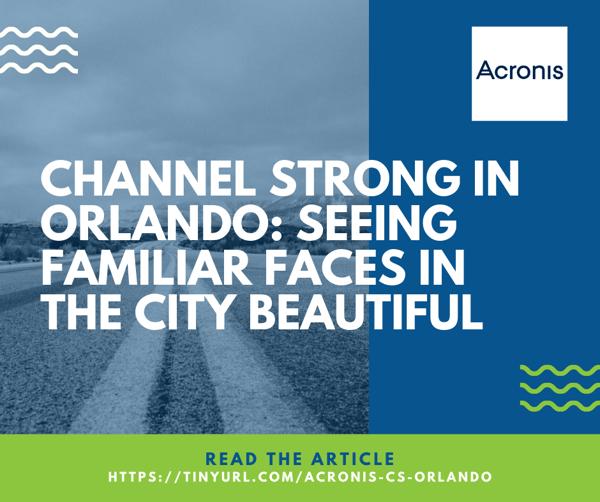 Acronis Article - Orlando