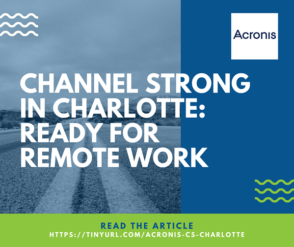 Acronis Article - Charlotte