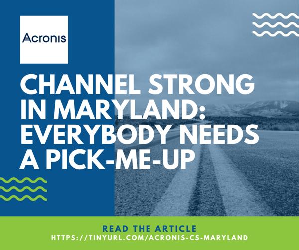 Acronis Article - Maryland