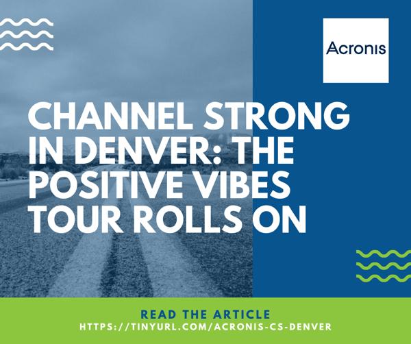 Acronis Article - Denver