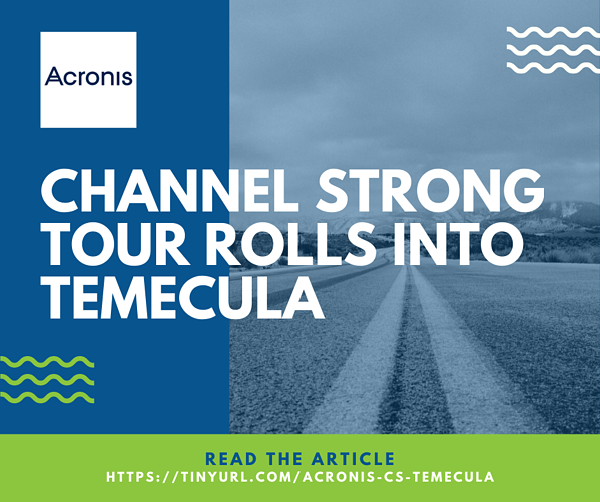 Acronis Article - Temecula