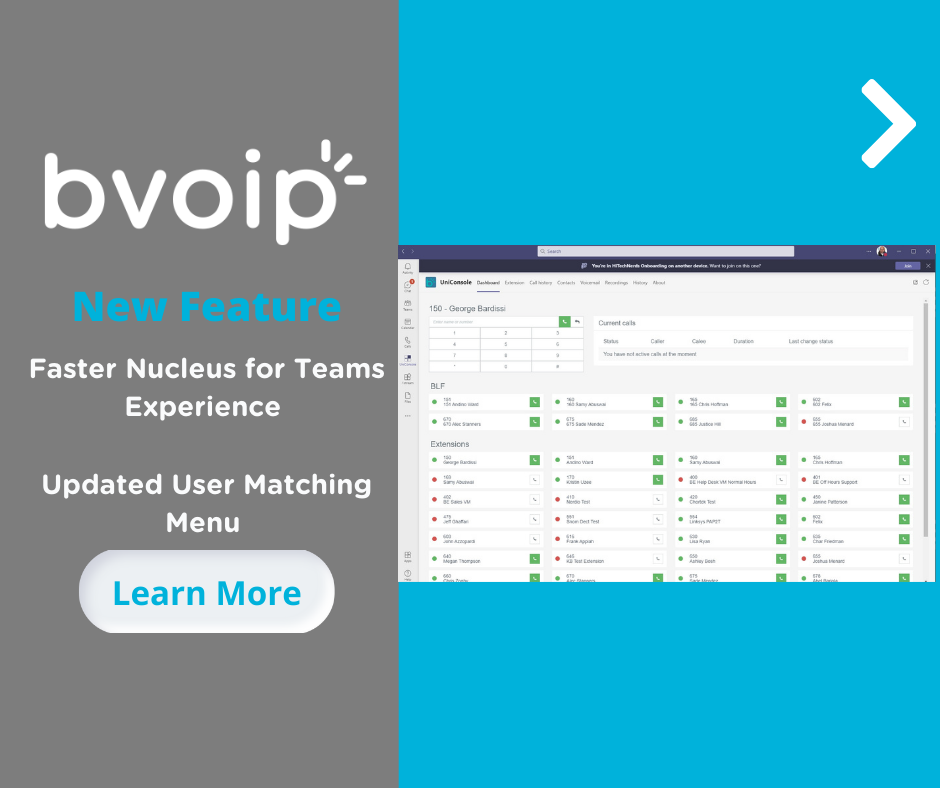 Enhancements to Nucleus for Teams