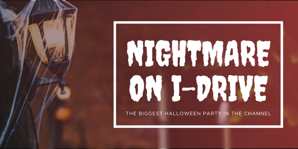 Nightmare on I-Drive Banner