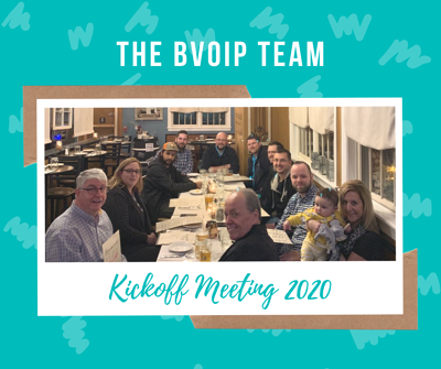 Kickoff Meeting 2020