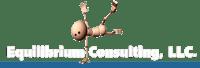 Equilibrium Consulting Logo - White
