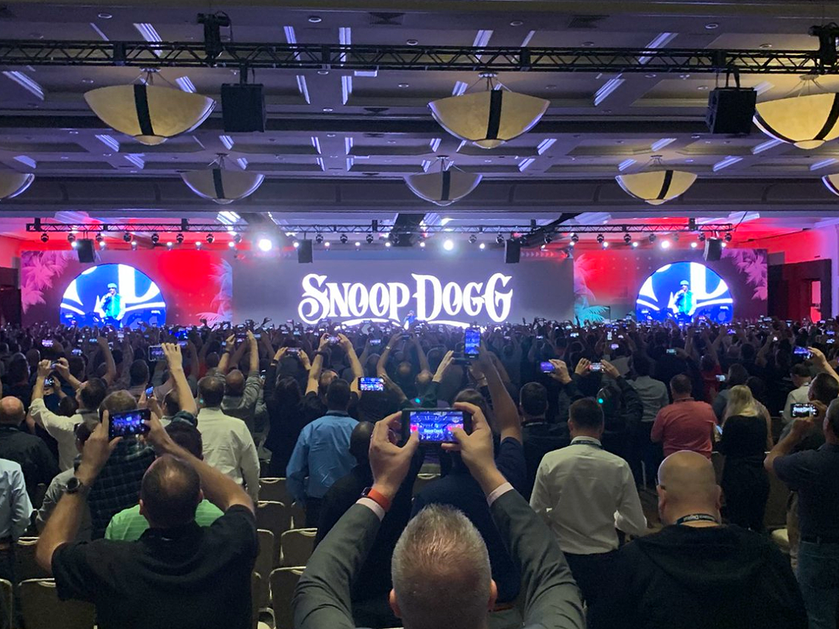 Snoop Dogg at DattoCon19