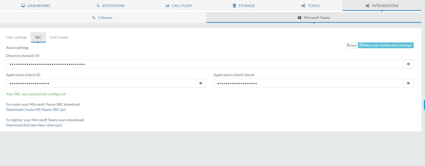 azure app registration hash
