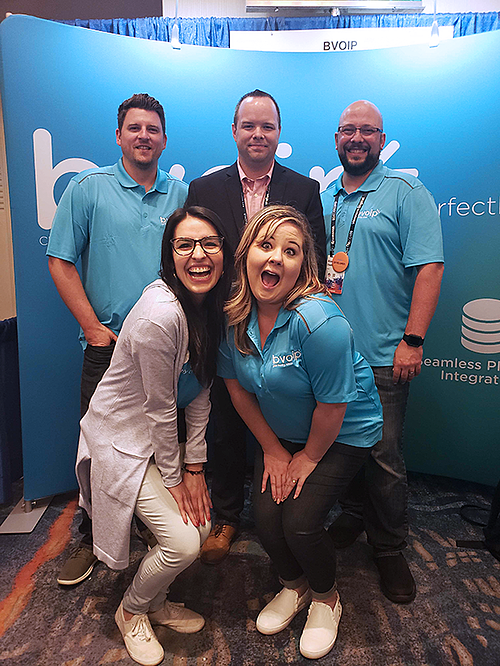 bvoip Team photo at DattoCon 2019