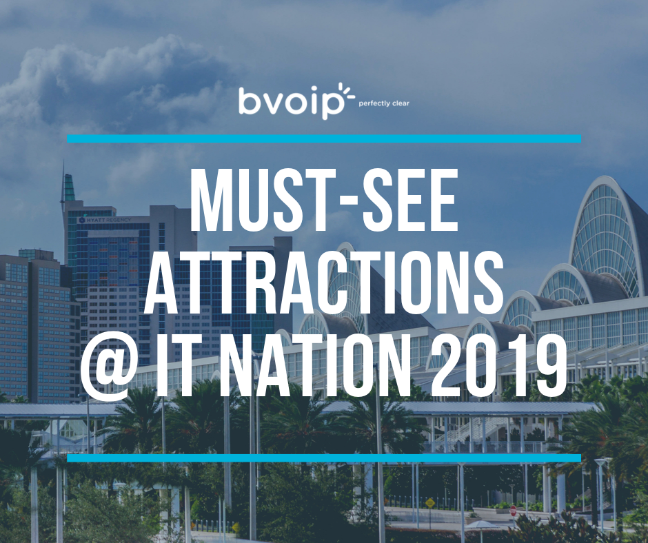 IT Nation Blog Post - Must See Attractions