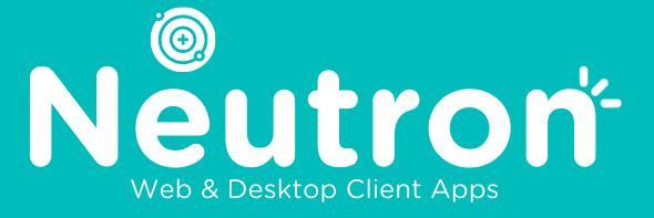 neutron logo launch